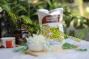 Grosir keripik buah kelapa